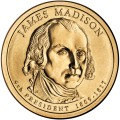 Prezydenci USA - 1$ / 2007 r. - James Madison (nr 4)