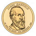 Prezydenci USA - 1$ / 2011 r. - James A. Garfield  (nr 20)