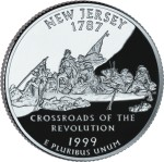 USA:  25 Centów / 1999 r. - New Jersey (nr 3)