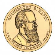 Prezydenci USA - 1$ / 2011 r. - Rutherford Hayes  (nr 19)