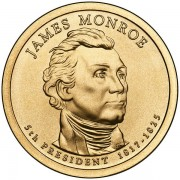 Prezydenci USA - 1$ / 2008 r. - James Monroe (nr 5)